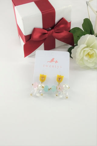 Flower Colorful Earrings
