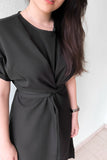 Chevy Midi Dress in Black