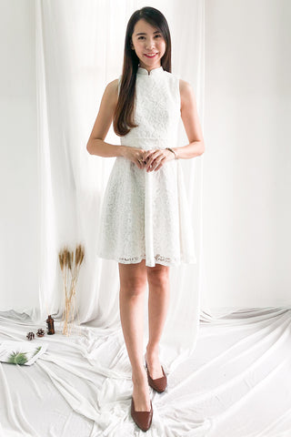 Two-Way Raissa Dress in White