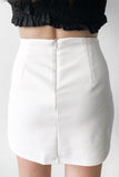 Lyle Skorts in White