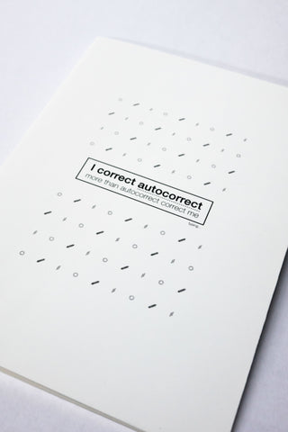 AutoCorrect Pocket Notebook - Accessories - Twenty3