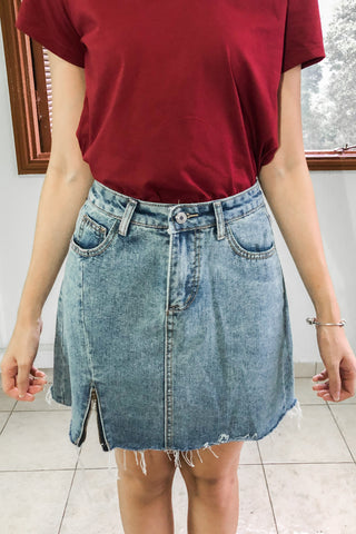 Etienne Denim Skirt