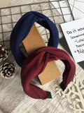 Knot Headband Navy
