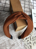 Knot Headband Copper