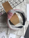 Knot Mixed Pink Headband
