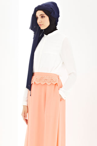 Daria Skirt in Salmon Pink
