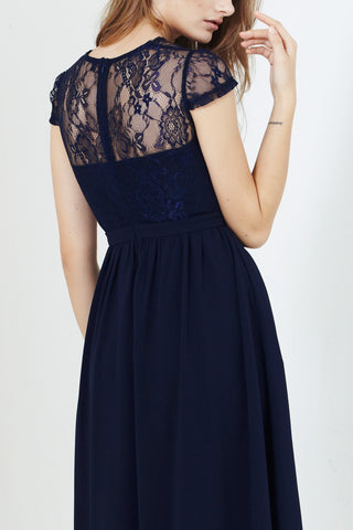 Twenty3 - Josette Dress in Navy Blue -  - Dresses - 1
