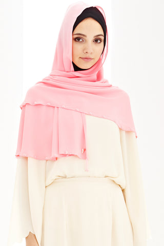 Alda Scarf in Pink - Headscarf - Twenty3
