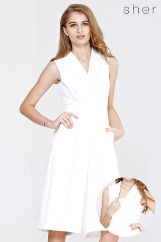 Fiducia Romper in White - Romper - Twenty3