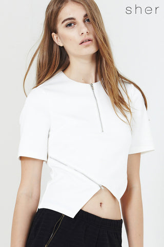 Twenty3 - Lolee Top in White -  - Top - 1