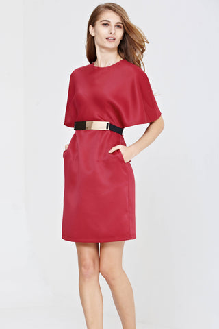 Twenty3 - Rayce Dress in Burgundy -  - Dresses - 1
