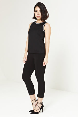 Twenty3 - Pazquale Top in Black -  - Tops - 1