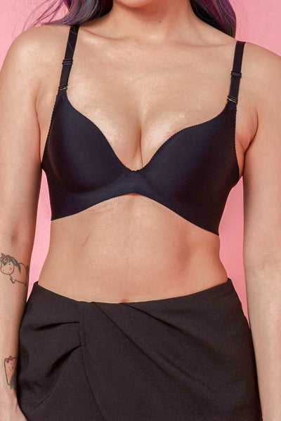 Seamless Push-up Bra in Black - Accessories - Twenty3