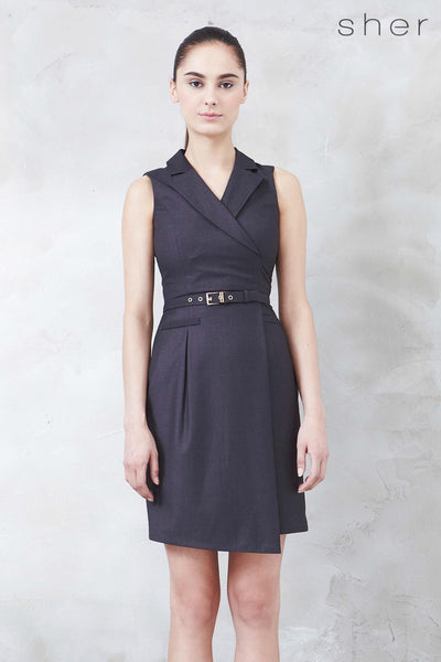 Twenty3 - Roxxane Dress in Charcoal -  - Dresses - 1