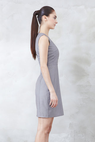 Rachelle Dress in Grey - Dresses - Twenty3
