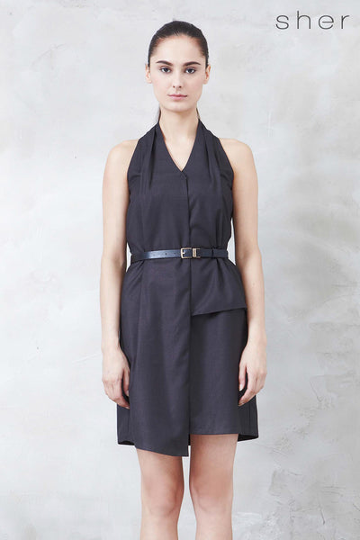 Twenty3 - Norvene Dress in Charcoal -  - Dresses - 1
