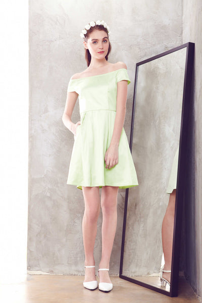 Summer Dress Version III in Mint - Dresses - Twenty3
