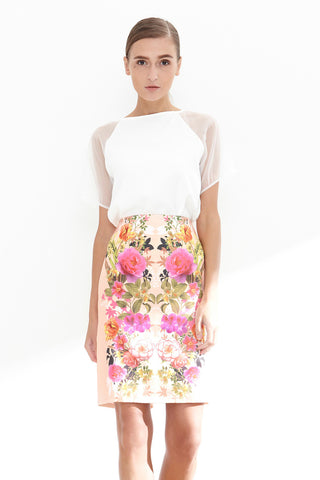 Xanadu Skirt in Floral Prints - Bottoms - Twenty3