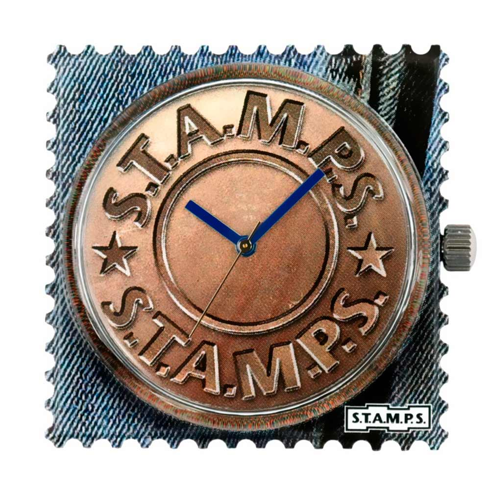 S.T.A.M.P.S. Zifferblatt Fly Button wasserfest