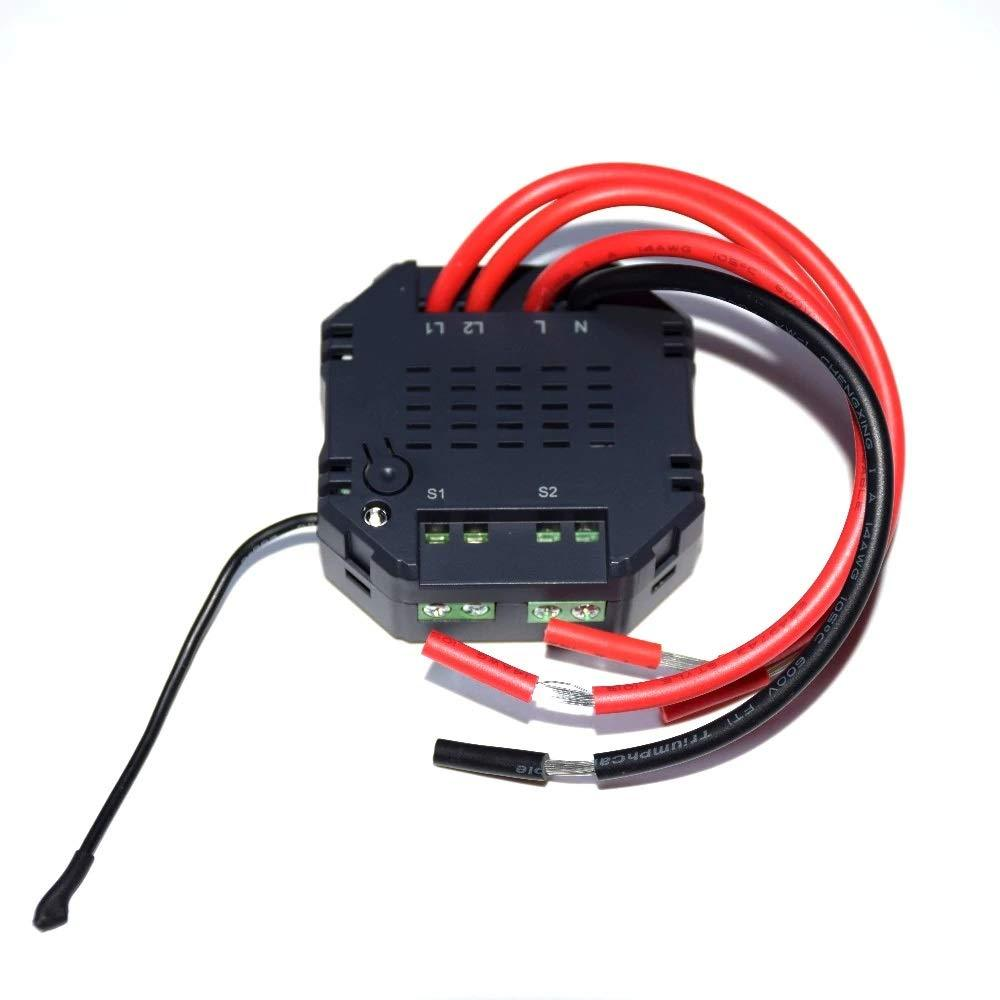 Dual Relay Power Switch Module - Z-Wave India