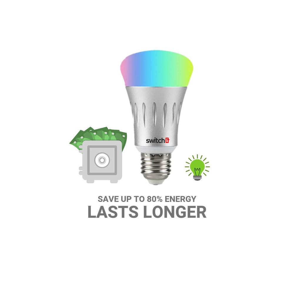 Smart WiFi Color Bulb 7W RGBW - Z-Wave India
