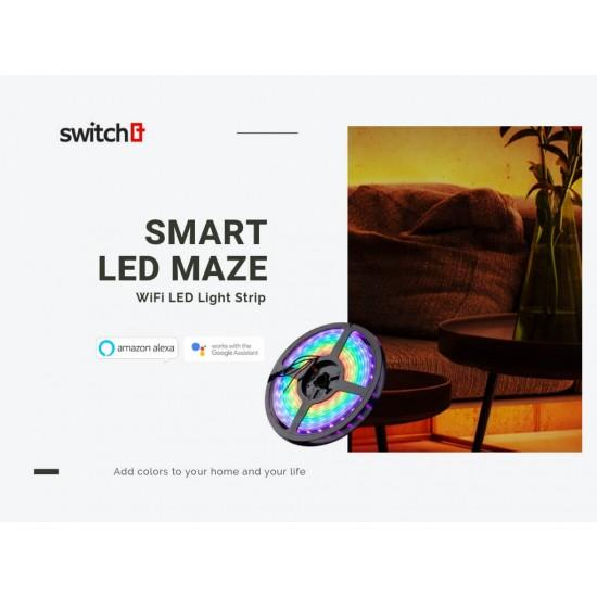 Smart Wi-Fi Color LED Light Strip 2M - Z-Wave India