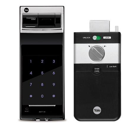 Yale Smart Digital Door Lock YDR4110 (Rim Lock) Remote Control, Z Wave (Optional) - Z-Wave India