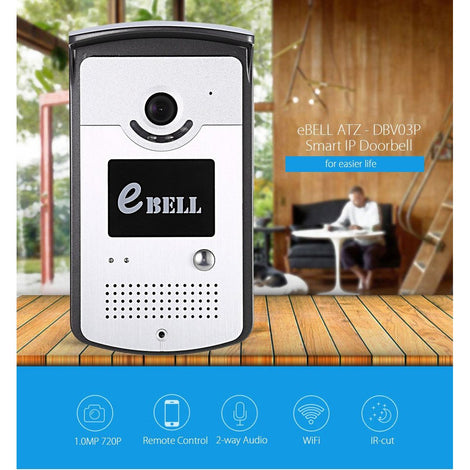Z Wave IP/Network Smart Doorbell - Z-Wave India