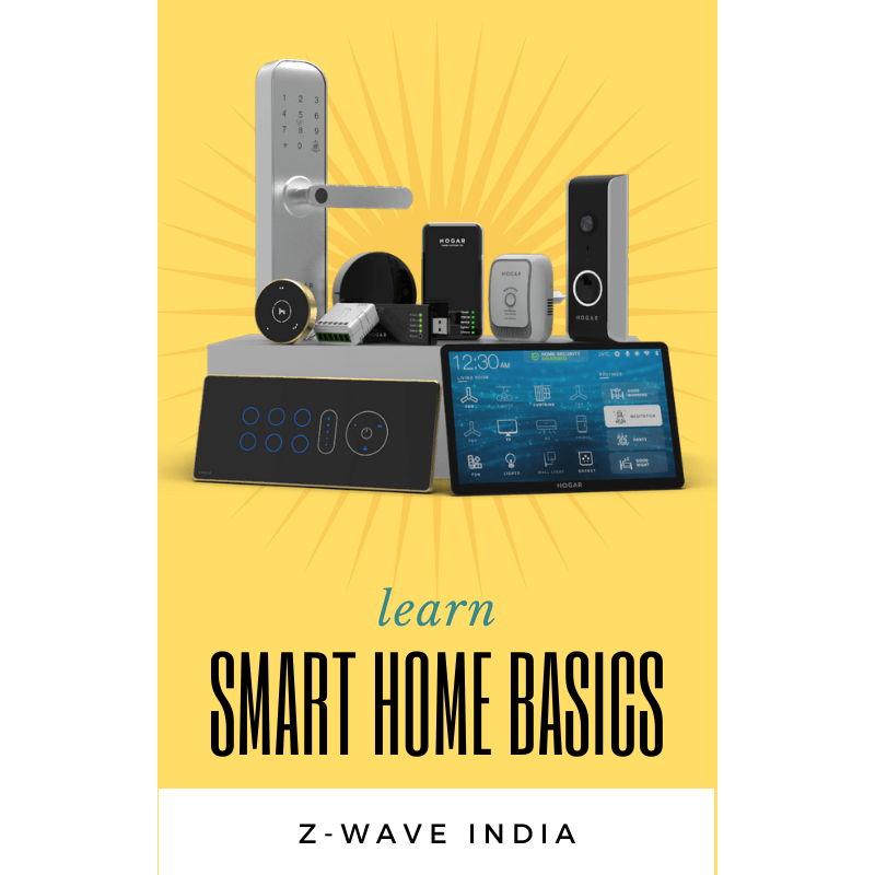 Learn Smart Home Basics eBook - z wave india