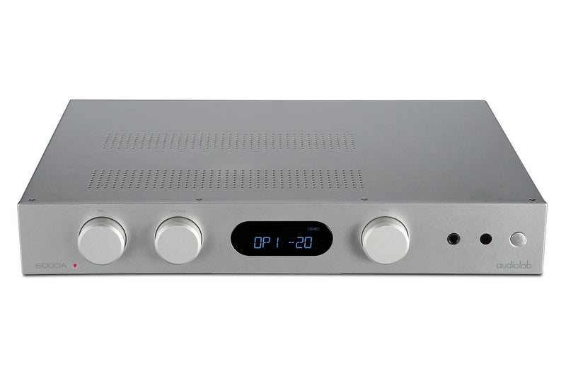 audiolab 6000A Integrated Amplifier - Silver
