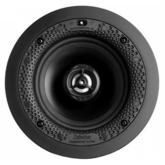 "Definitive Technology DI5.5R Round 5.5"" in-wall / in-ceiling speaker (White) - Yorkshire AV LTD"