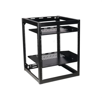 Sanus CFR1615B1, 15U Stackable Skleton Rack - Yorkshire AV LTD