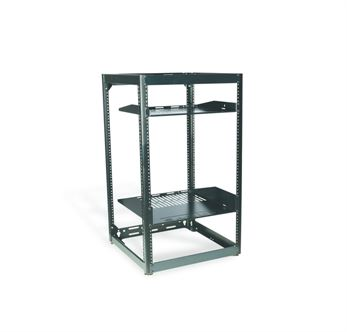 Sanus CFR1620B1, 20U Stackable Skeleton Rack - Yorkshire AV LTD
