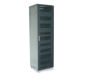 Sanus CFR2144B1, 44U Component Series 2153mm Tall AV Rack - Yorkshire AV LTD
