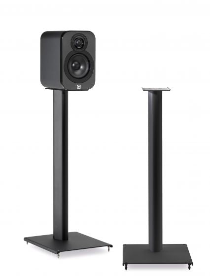 Q Acoustics 3000 Series Floor Stands Pair (Black) - Yorkshire AV LTD