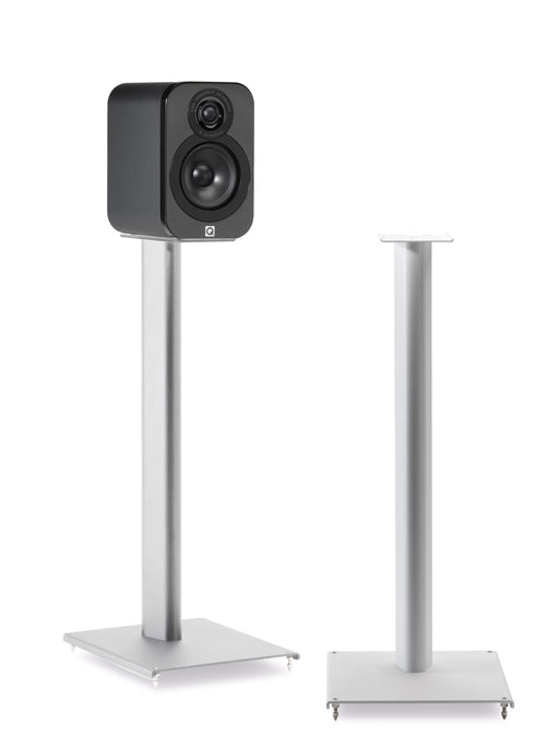 Q Acoustics 3000 Series Floor Stands Pair (White) - Yorkshire AV LTD