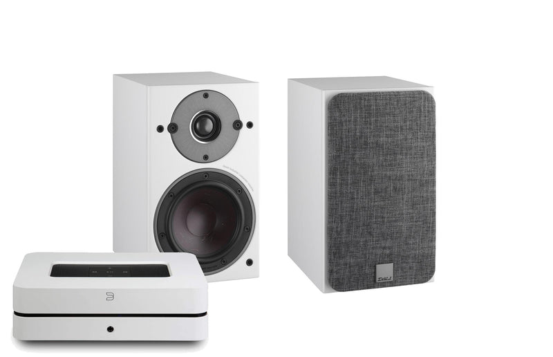 Bluesound Powernode 2i with Dali Oberon 1 speakers