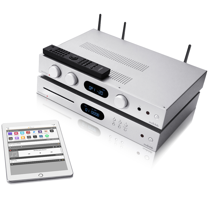 PRE-ORDER AudioLab 6000A Play (Amplifier and Streamer) - Yorkshire AV LTD