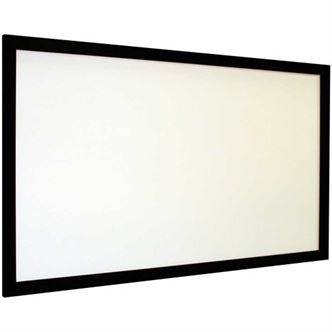 "Euroscreen VLD190W, Frame Vison Light 16:9, 86"" FlexWhite Vel-Tex - Yorkshire AV LTD"