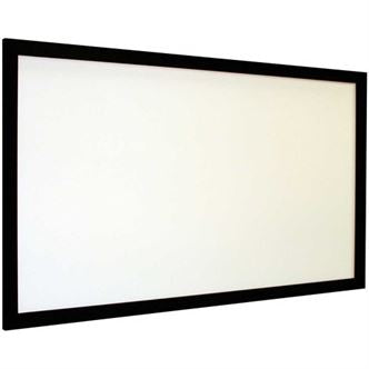 "Euroscreen VLD210W, Frame Vison Light 16:9, 95"" FlexWhite Vel-Tex - Yorkshire AV LTD"