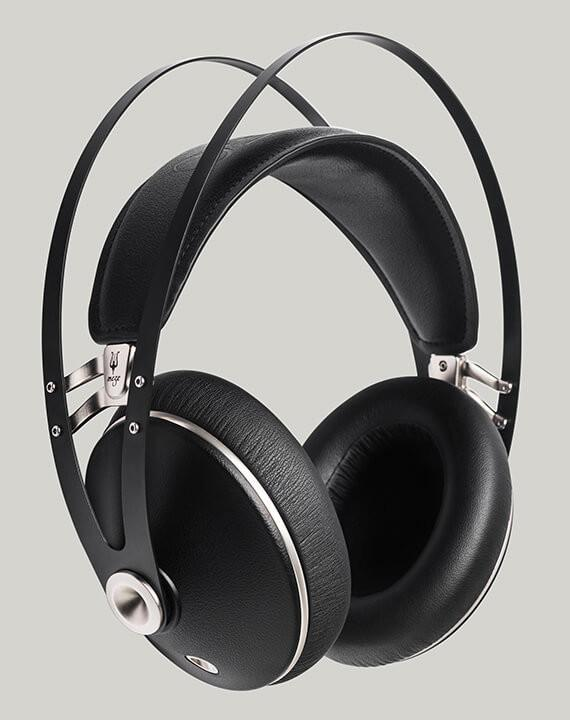 MEZE 99 NEO Black and Silver over ear headphones