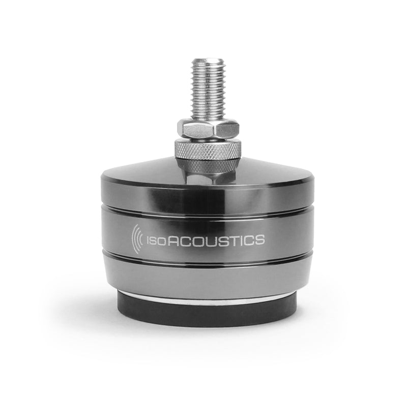 isoAcoustics GAIA Titan Machined Stainless Steel Isolators