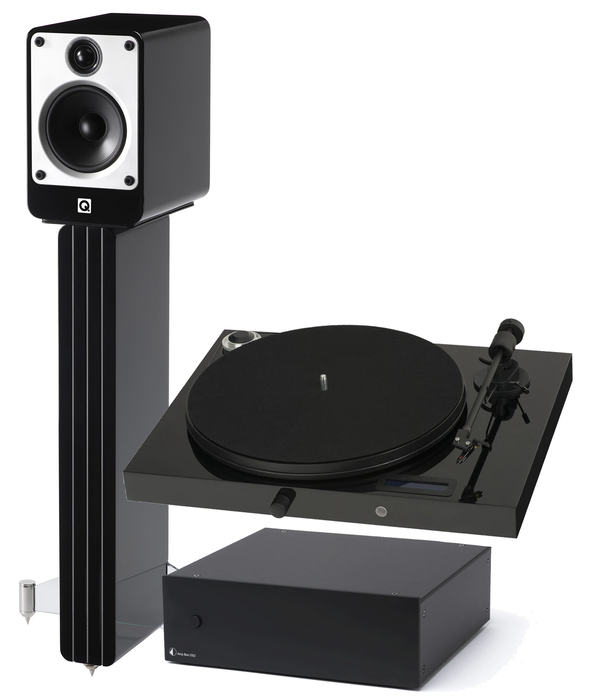 Q Acoustics Concept 20 and Pro-Ject Audio Juke Box E bundle - Yorkshire AV LTD