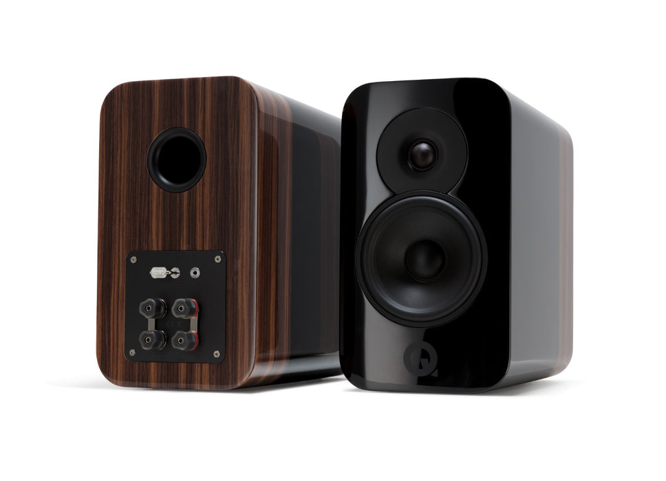 Q Acoustics Concept 300 (Stand (Black & Rosewood) - pair (excluding stands)