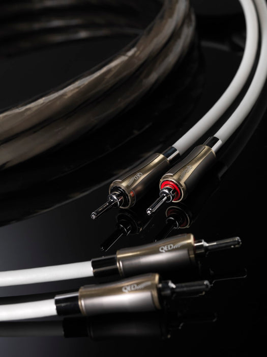 QED Supremus Loudspeaker Cable Pair 3m - Yorkshire AV LTD