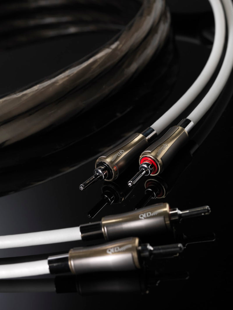 QED Supremus Loudspeaker Cable Pair 5m - Yorkshire AV LTD
