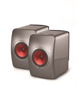 KEF LS50W Monitor Speaker Pair With Bluetooth (Multiple Choice) - Yorkshire AV LTD