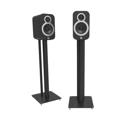 Q Acoustics 3000i Series Floor Stands Pair (Black) - Yorkshire AV LTD
