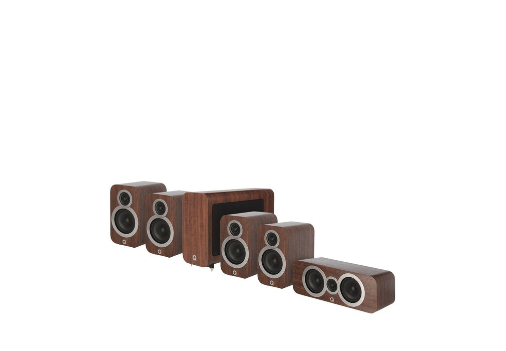 Q Acoustics 3010i Cinema Pack (English Walnut) - Yorkshire AV LTD