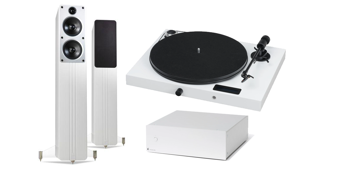 Q Acoustics Concept 40 and Pro-Ject Audio Juke Box E bundle